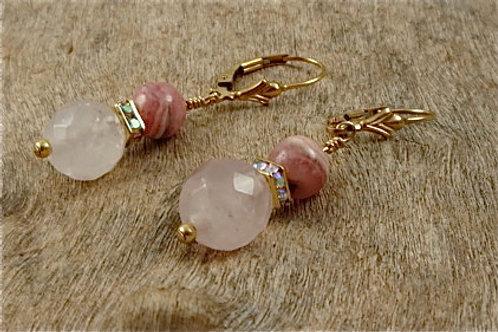 Heart Chakra Earrings Small