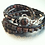 Thumbnail: Dark Jasper Leather Wrap Bracelet