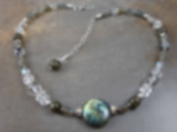 Labradorite Crystal Necklace