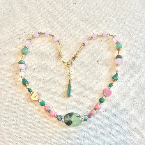 Heart Chakra Necklace A