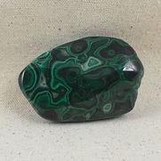Malachite stone chunk