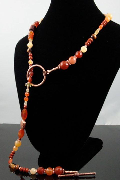 Sacral Chakra Necklace (X)
