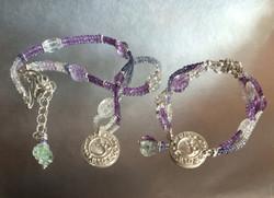 Om Bracelet and Necklace