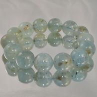 Aquamarine Bead Rounds