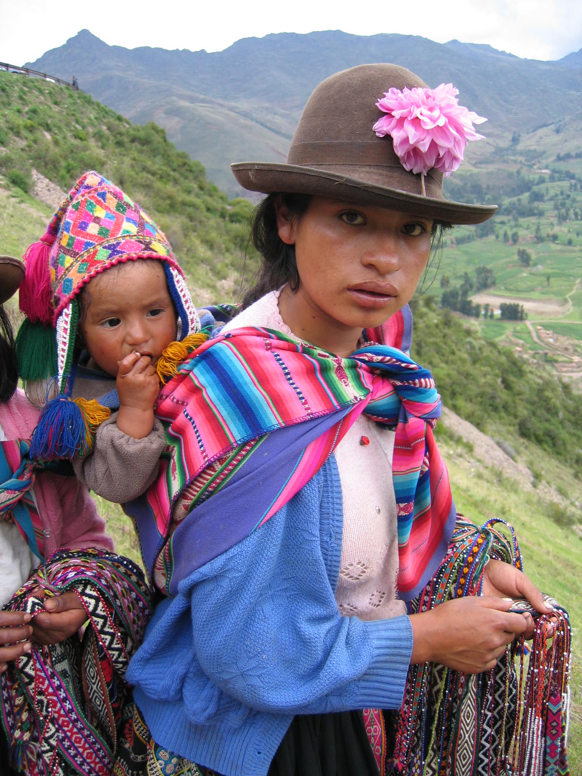 Andean Women and Child