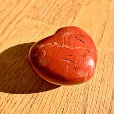 Brecciated Jasper 45mm Puffy Heart