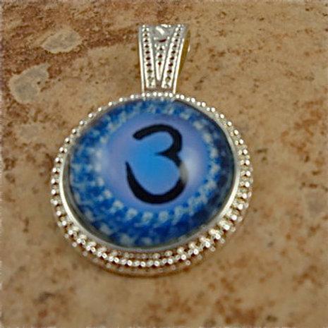 Glass Brow Chakra Pendant