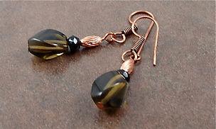 Smokey Quartz Earrings Earthpowerstones