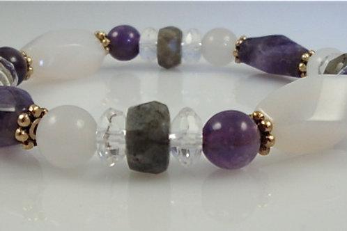 Crown Chakra Bracelet A