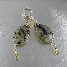 Nammu Goddess Earrings Prehnite Earrings