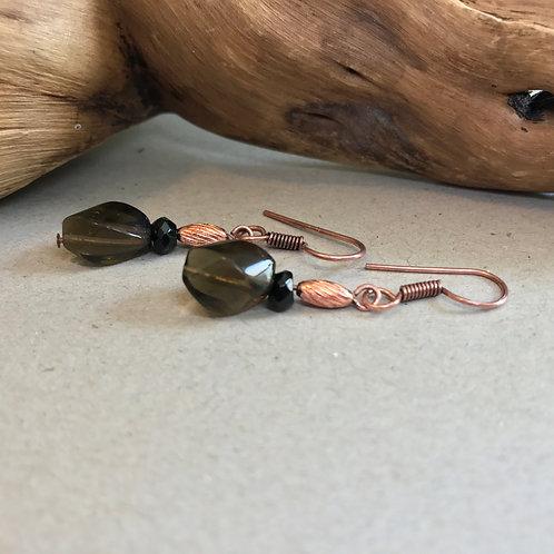 Root Chakra Earrings E