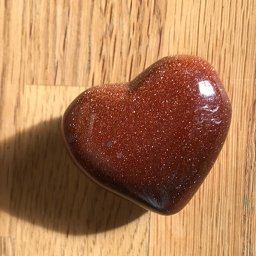 GoldStone 45mm Puffy Heart
