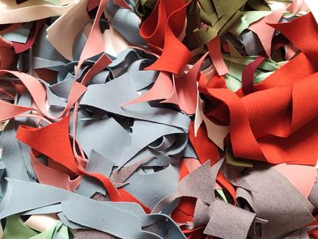 Reciclagem de resíduos com a Renovar Têxtil