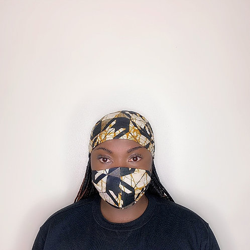 Esi Head Wrap with Face Mask