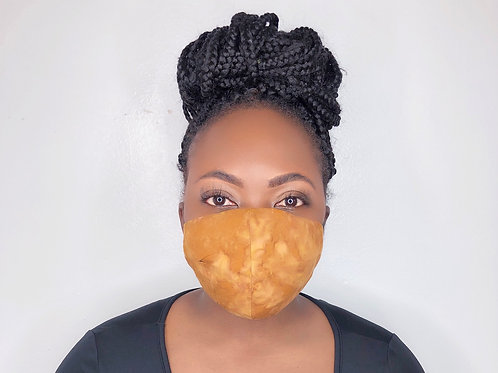 Fashion Print Face Mask -Mud Cloth