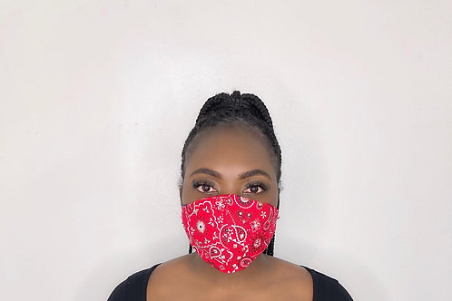 Fashion Print Face Mask - Mary Poppin