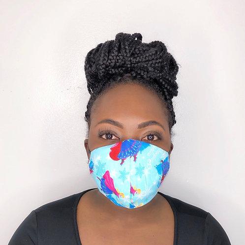 Fashion Print Face Mask -Princess Story