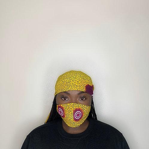 Tina Head Wrap with Face Mask
