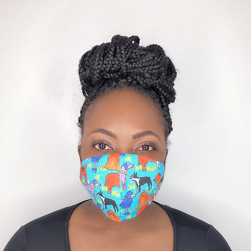 Fashion Print Face Mask -Petco