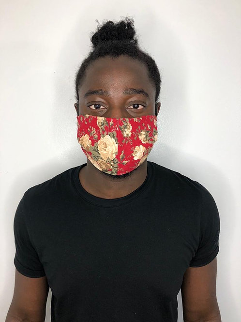 Fashion Print Face Mask - Fun & Floral