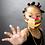 Thumbnail: Kente Print Face Mask-Strawberry Banana