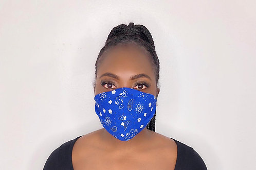 Fashion Print Face Mask - Twilight