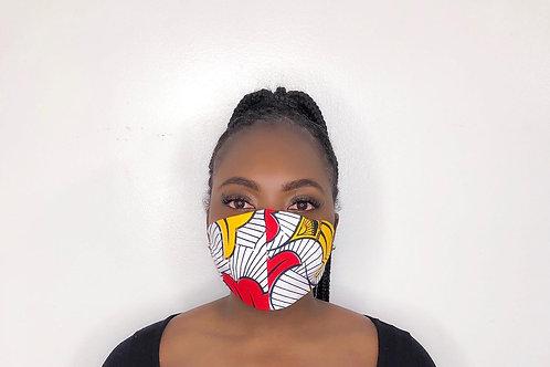 Ankara Print Face Mask - Dandy