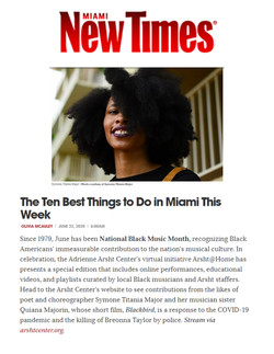 Miami New Time June 2020