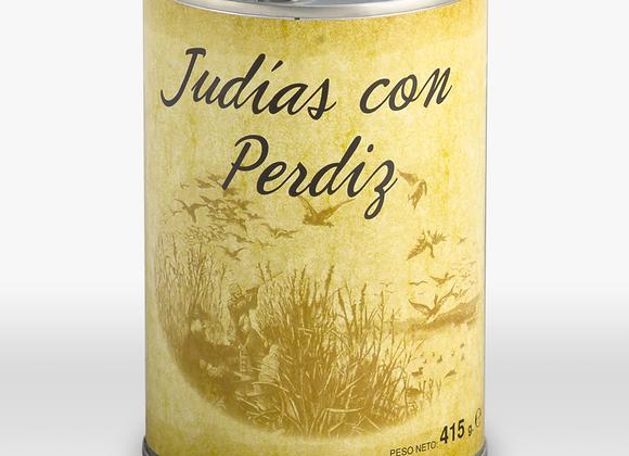JUDIAS CON PERDIZ