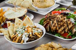 Greek bowl con carne de cordero