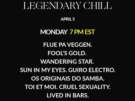 Legendary Chill |  DJ SET V | NuJazz. Electronica. Indie.