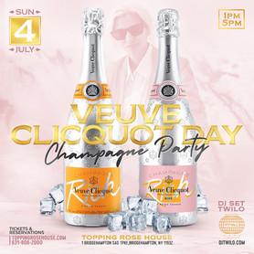 Veuve Clicquot Day Champagne Party & DJ TWILO