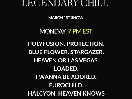 Legendary Chill |  DJ SET I | Shoegaze. Indie. Alt