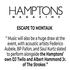 HAMPTONS MAGAZINE DJTWILO THE STROKES