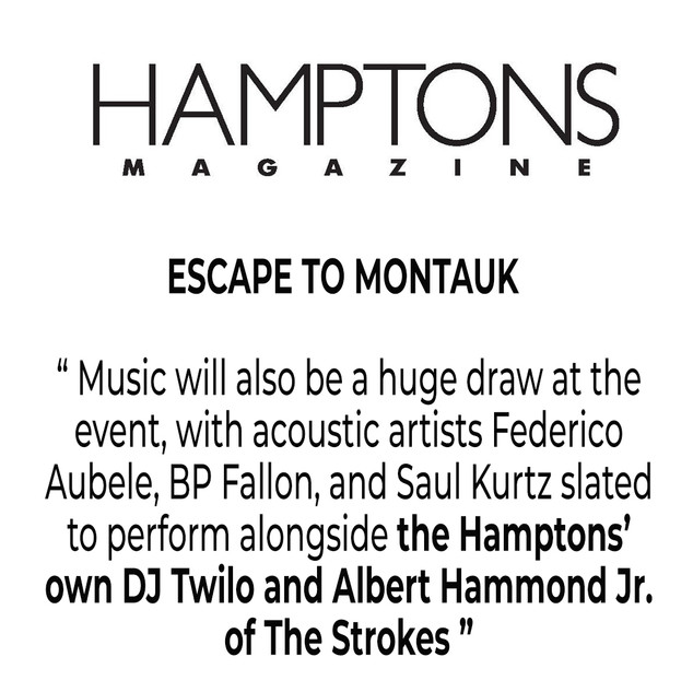 HAMPTONS MAGAZINE DJTWILO THE STROKES