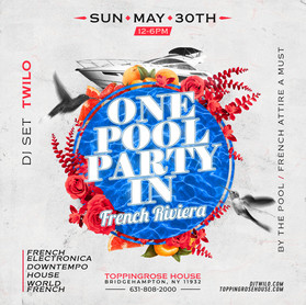 TOPPING ROSE HOUSE & DJ TWILO , MAY 30TH