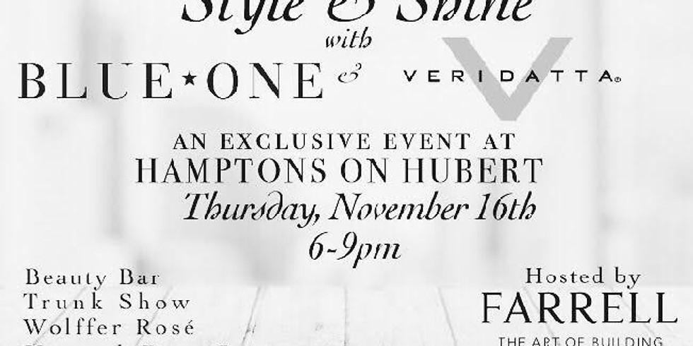 HAMPTONS ON HUBERT/STYLE & SHINE