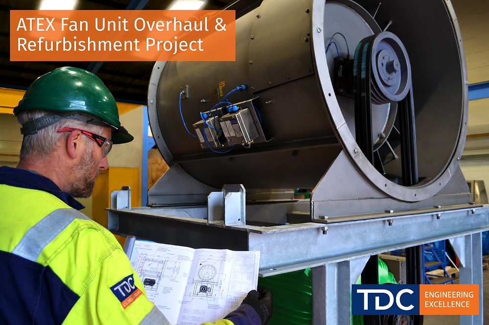 ATEX Fan Unit Overhaul & Refurbishment Project