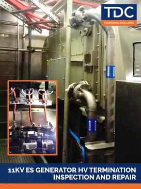 11kV ES Generator HV Termination Inspection and Repair