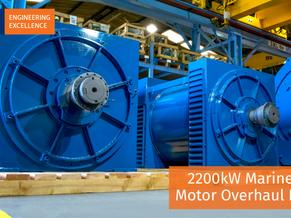 2200kW Marine Pump Motor Overhaul Project