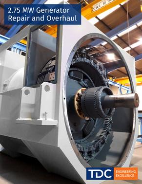 2.75 MW Generator Repair and Overhaul