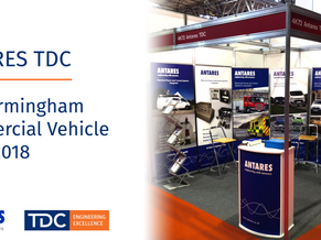 Antares TDC NEC Birmingham Commercial Vehicle Show 2018