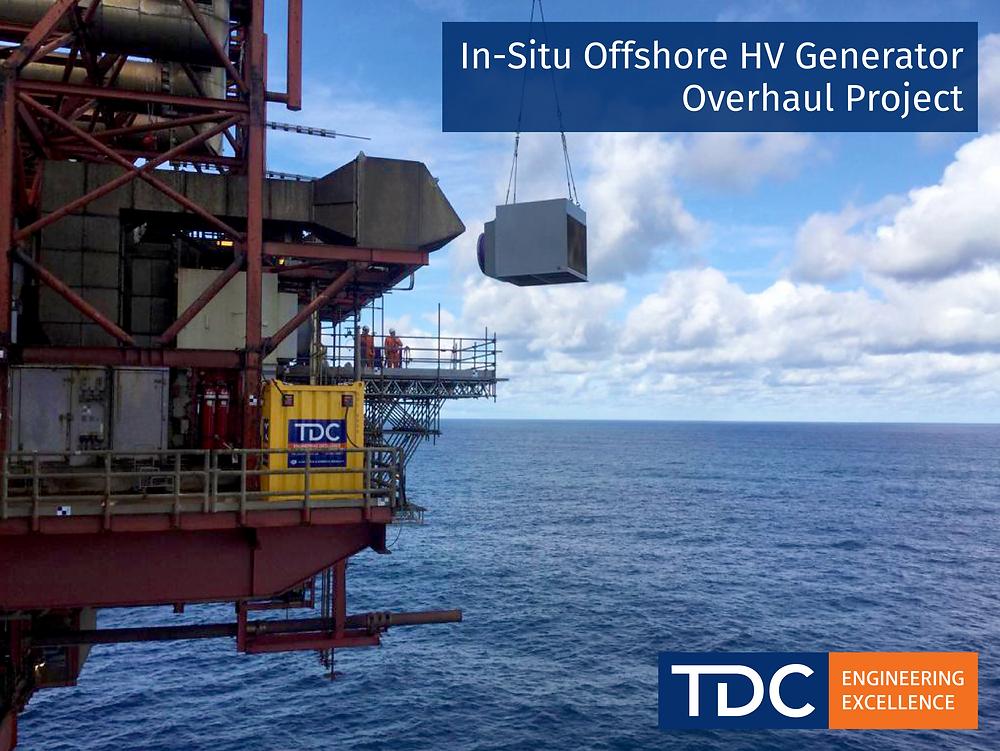 In-Situ Offshore HV Generator Overhaul Project