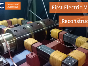 TDC assists Grampian Transport Museum to reconstruct the world's first electric motor