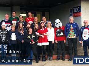 Supporting Save the Children - Christmas Jumper Day
