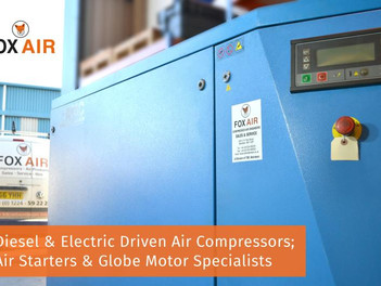 Diesel and Electric Driven Air Compressors, Air Starters, and Globe Motor Specialists