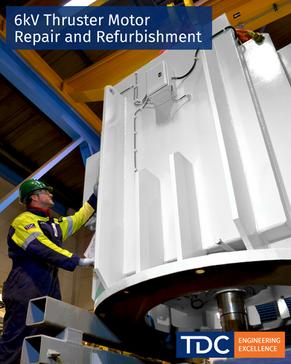 6kV Thruster Motor Repair and Refurbishment