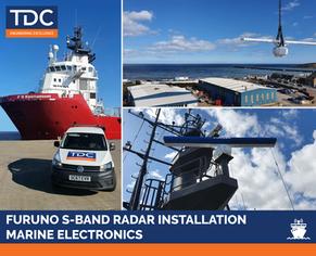 Furuno S-Band Radar Installation - Marine Electronics