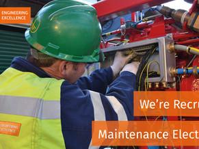 NEW VACANCY - Maintenance Electrician