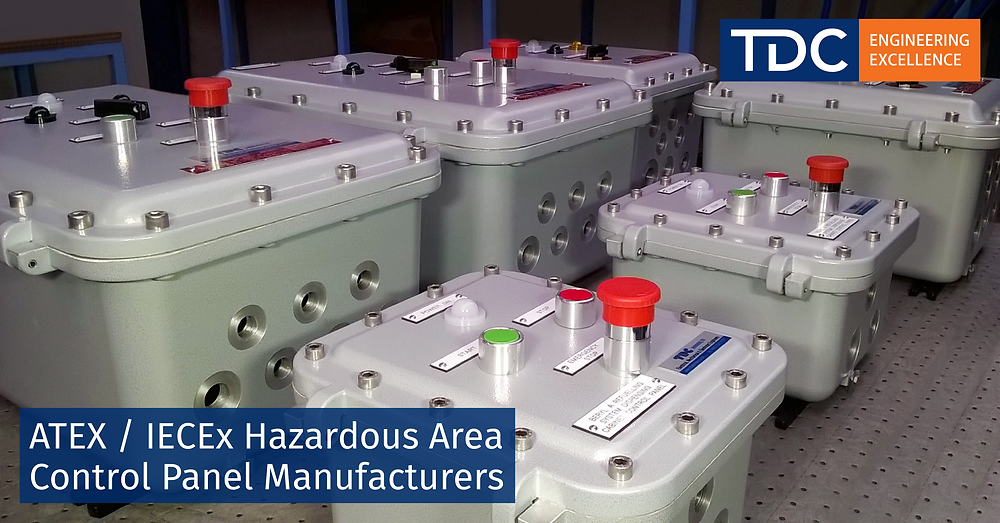 ATEX/IECEx Hazardous Area Control Panel Manufactureres